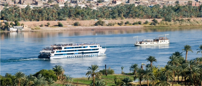 Africa cruise on the Nile