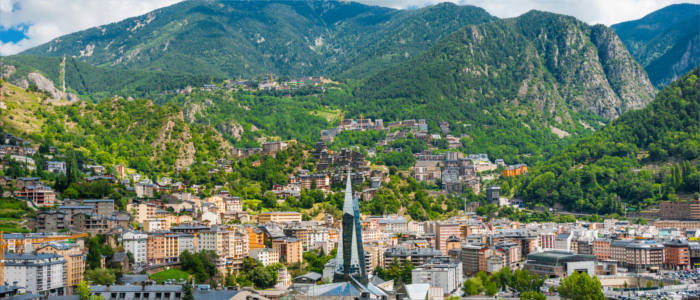 The capital of Andorra la Vella