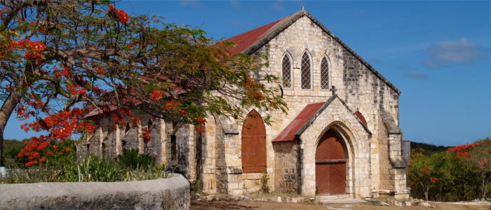 Gilbert Memorial Methodist Church on Antigua and Barbuda