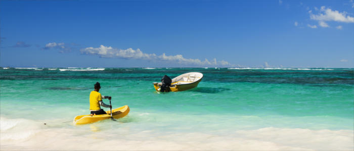Kayaking in the Caribbean