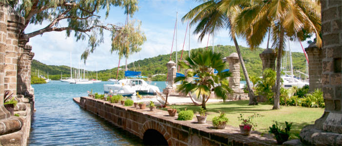 Nelson's Dockyard on Antigua