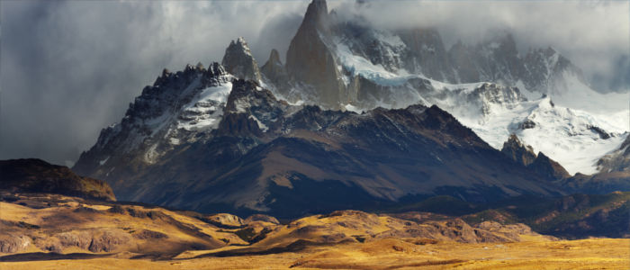 Andes Mountains in Patagonia, Argentina