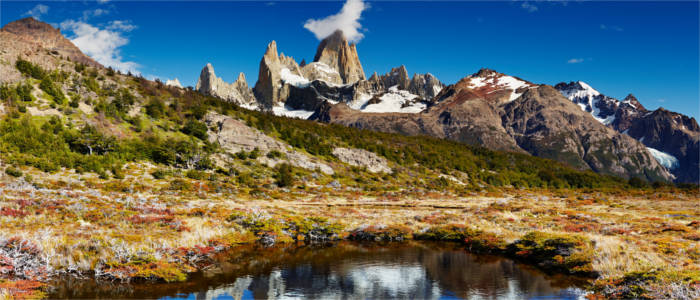 Famous mountain in Patagonia - Argentina