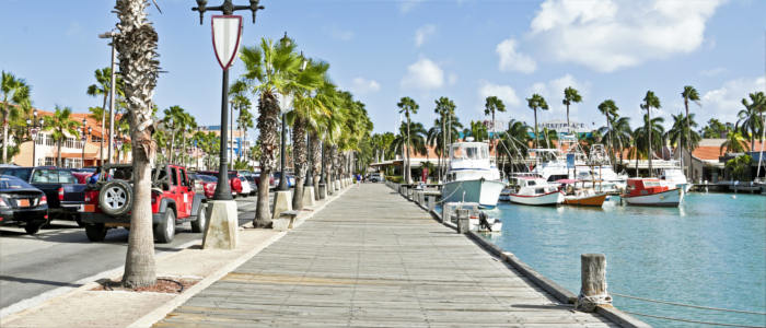 Aruba's harbour