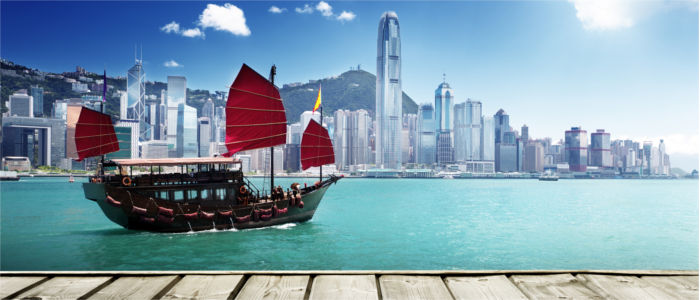 Seaport towns in Asia Hong Kong