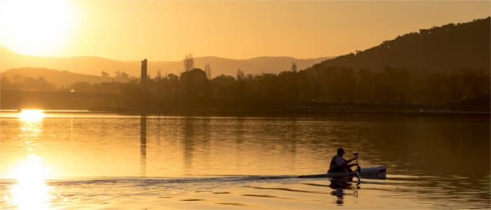 Water sports in the Australian Capital Territory
