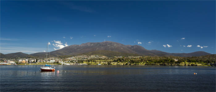 Panorama of Hobart