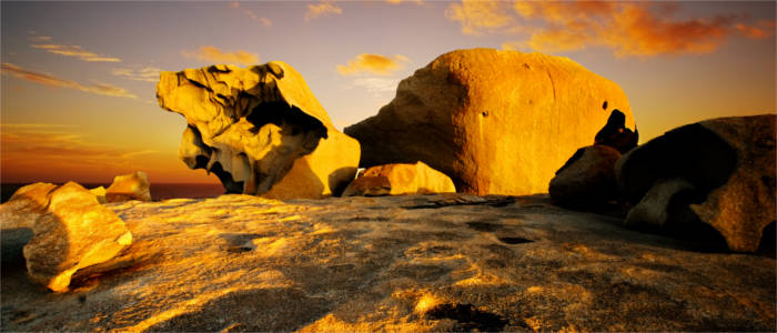 Rock formation on Kangaroo Island
