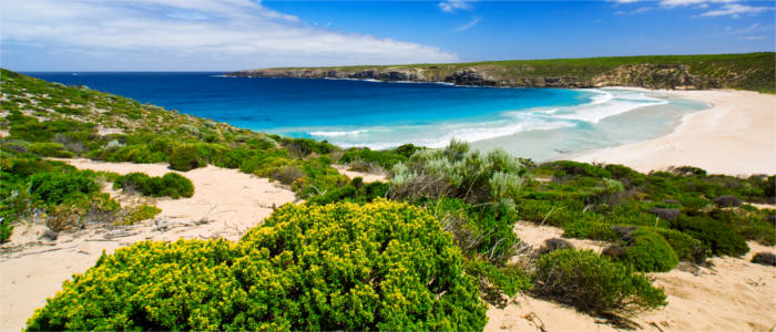 Beach no Kangaroo Island