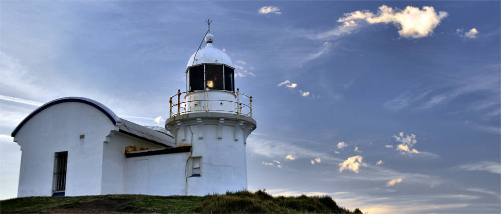Lighthouse at the north coast of New South Wales