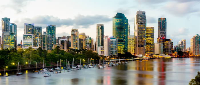 Big city in Queensland