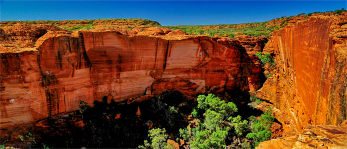 Rock formation in the Red Centre