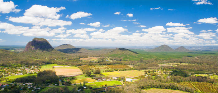 Hinterland of the Sunshine Coast