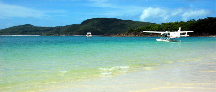 Leisure activities on the Whitsunday Islands