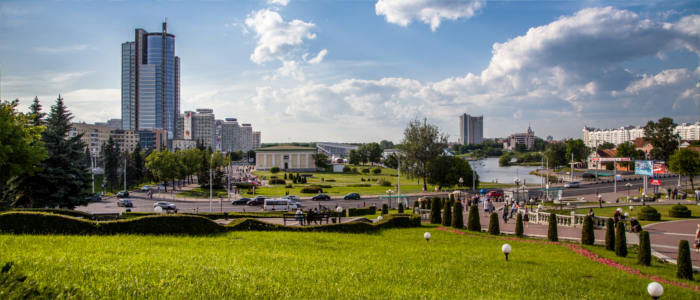 Discovering the capital of Minsk