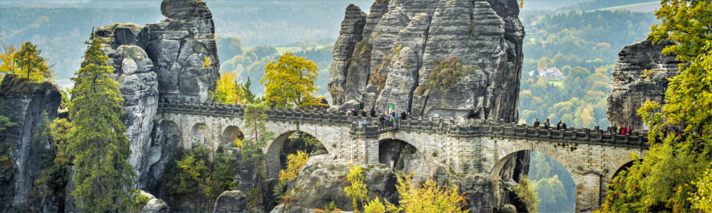 Saxon Switzerland in Germany