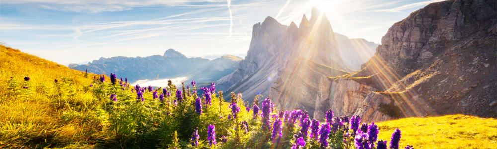 The Italian Dolomites as a travel region