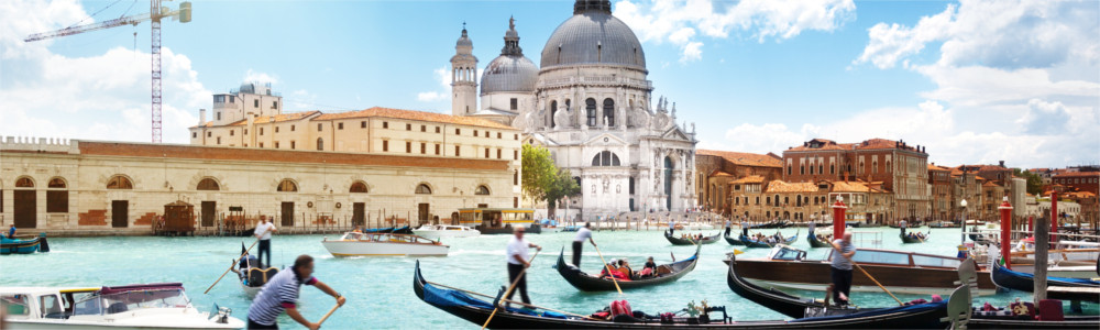 The Italian travel destination of Venice