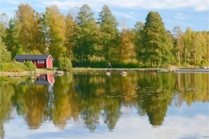 Summer holiday in Sweden in 2015