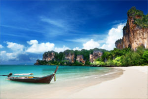 Summer holiday in Thailand in 2015