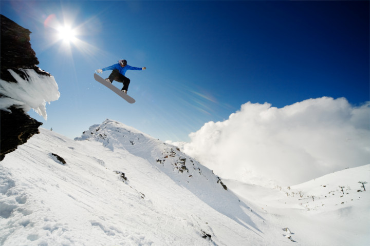 Action sports in New Zealand - Snowboarding