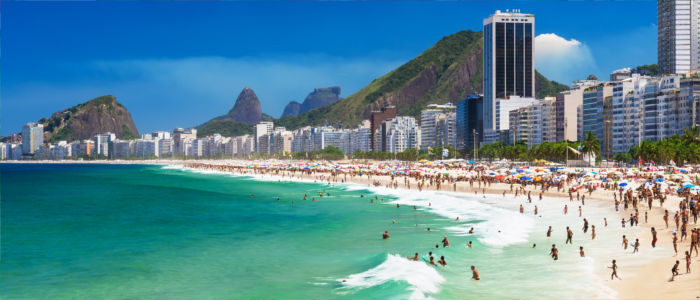 Holidays at the Copacabana in Brazil