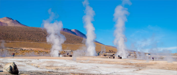 Geysers in Chile