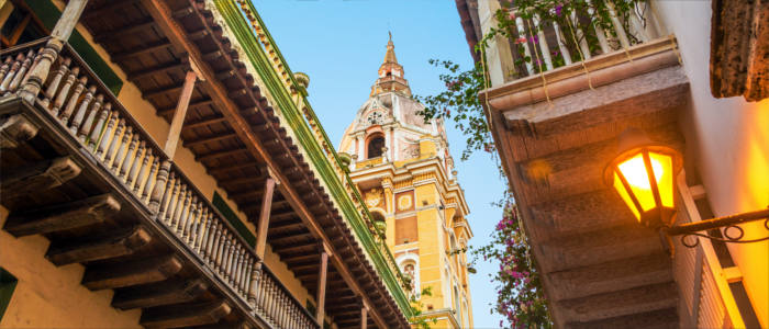 Cartagena - historical city in Colombia