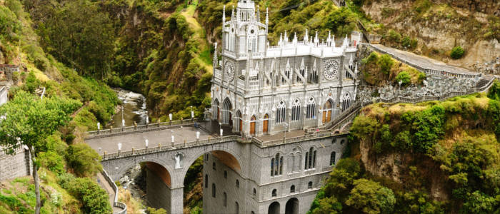 The Colombian pilgrimage church of Las Lajas