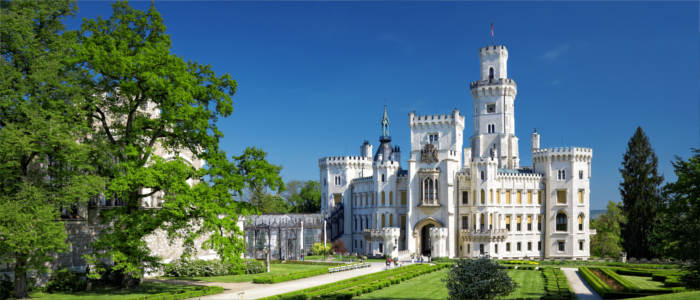 Hluboká Castle in the Czech Republic