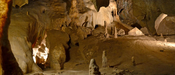 Karst caves in the Czech Republic - Na Pomezi