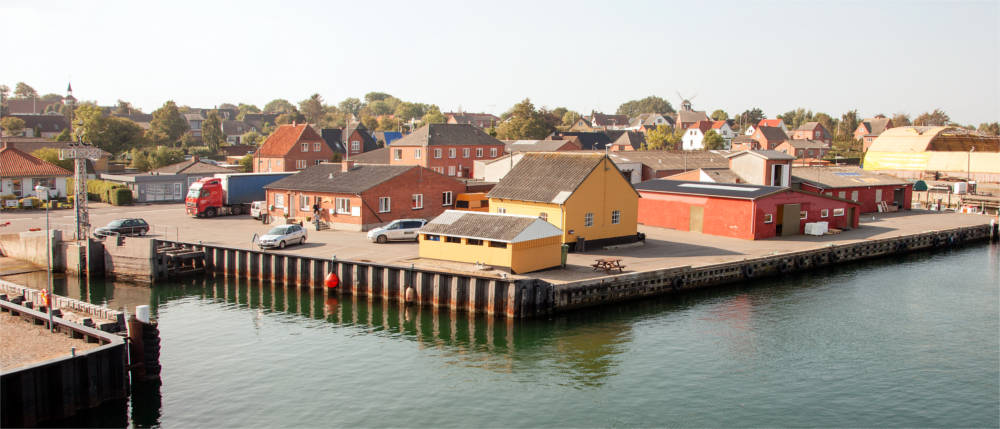 Harbour on Ærø