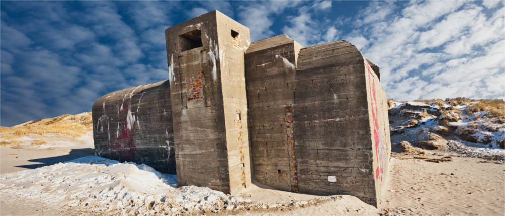 Bunker of the Atlantic Wall