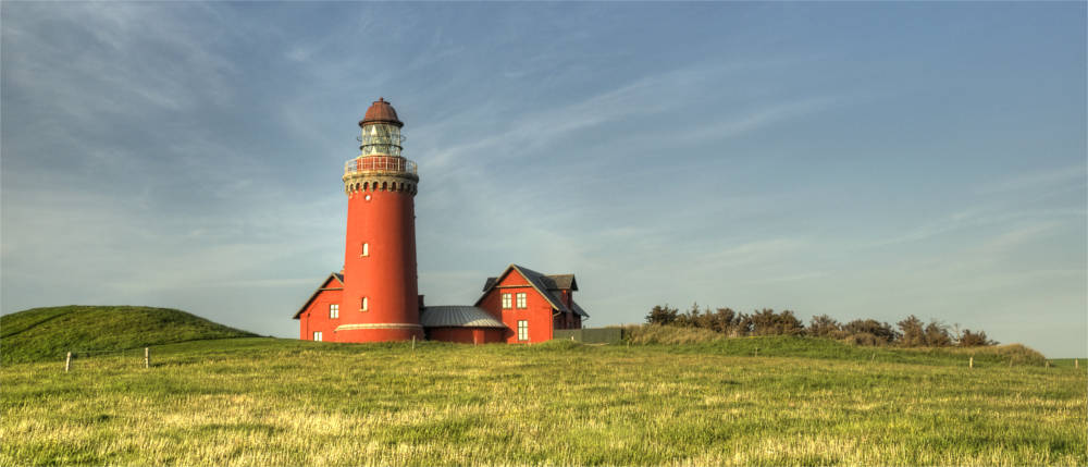Lighthouse in West Jutland