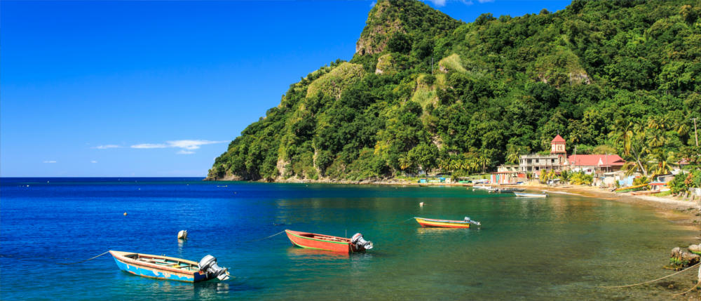 Dominica - Caribbean bay