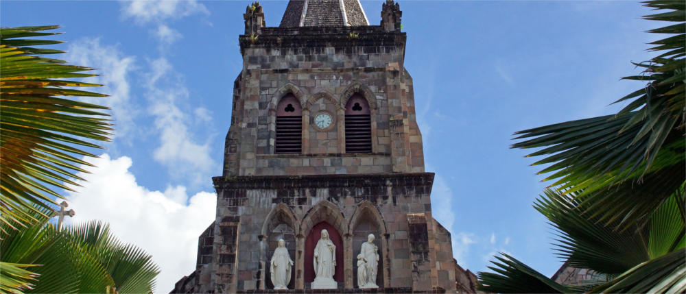 Roseau's Church - Dominica