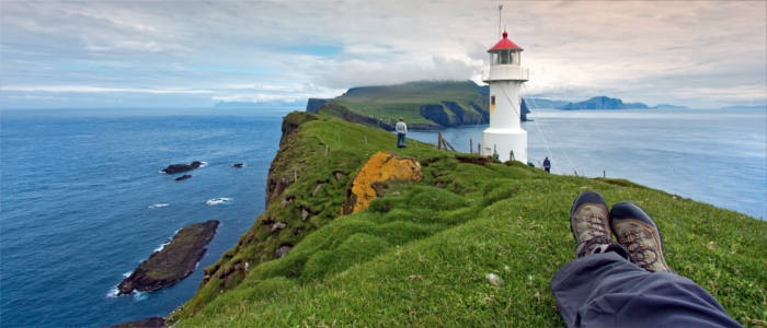 Lighthouses on the Faroe Islands