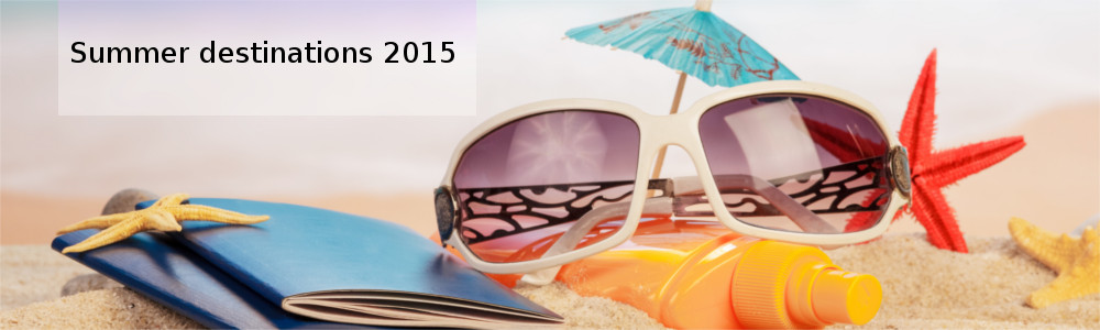 Summer destinations 2015