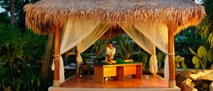 Massage on the Fiji Islands