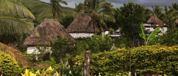 Navala - a village on the Fiji Islands