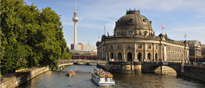 Museum Island and Fernsehturm (TV tower)