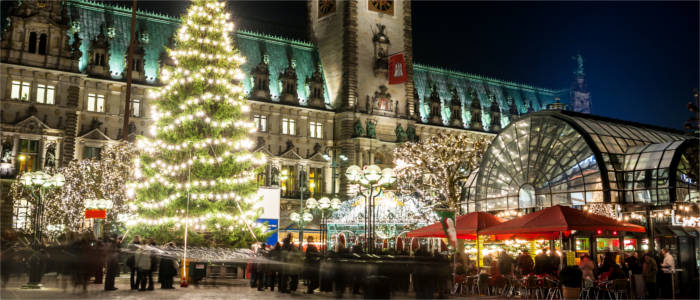 Christmas in the Hanseatic City of Hamburg