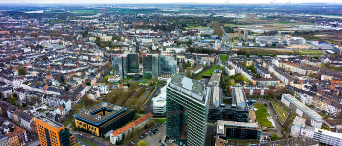 City in the Ruhr region