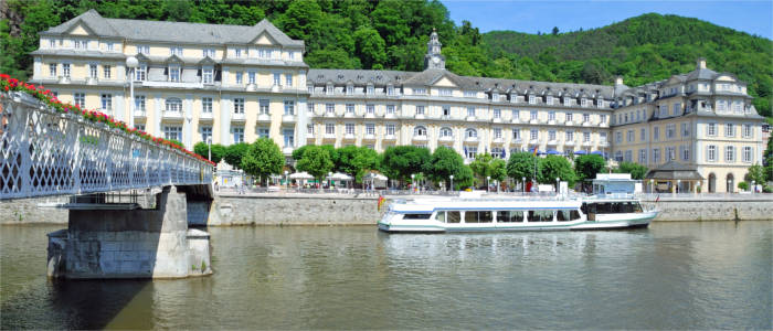 The Lahn in Bad Ems
