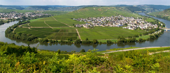 Bernkastel-Wittlich at the Moselle
