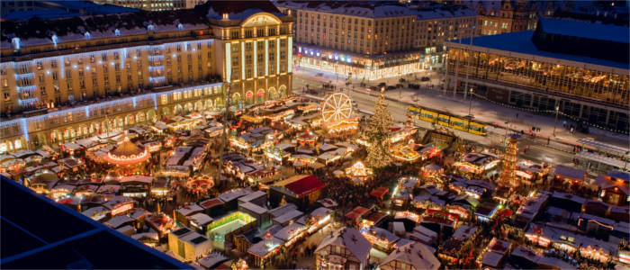 The oldest Christmas market in Germany