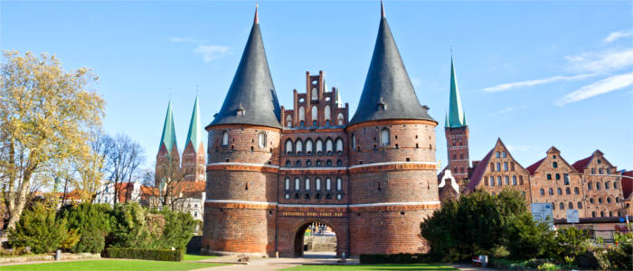 Gate in Lübeck