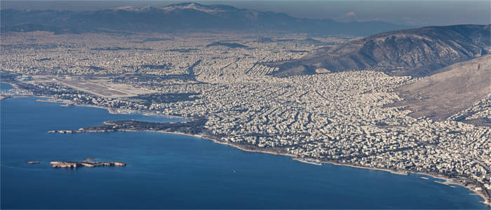 Athens and its surroundings