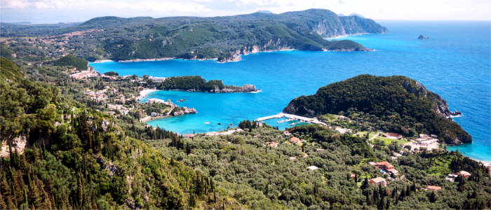 Kerkyra in the Ionian Sea