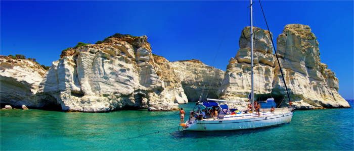 Sailing adventures in the Cyclades